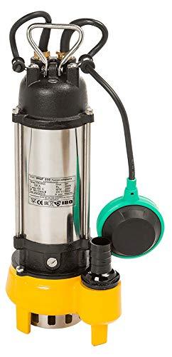Prieser Schmutzwasser Pumpe Fäkalien Wasserpumpe Edelstahl Fäkalien Tauchpumpe WQF