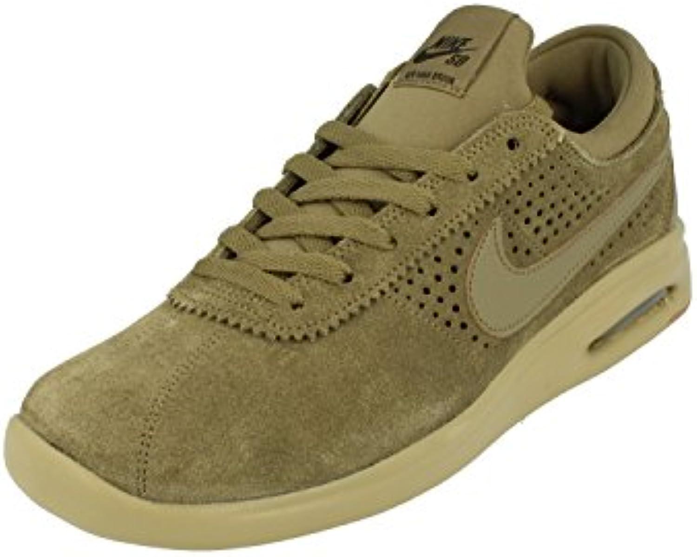 Nike Zapatillas de Ante Para Hombre Verde Verde