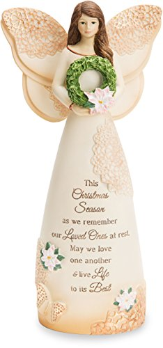 Pavilion Gift Company 19164 Light Your Way Memorial-This Christmas Season As we Remember Ones at Rest, May we Love One Another & Life to its Best 7.5 Engel Figur -