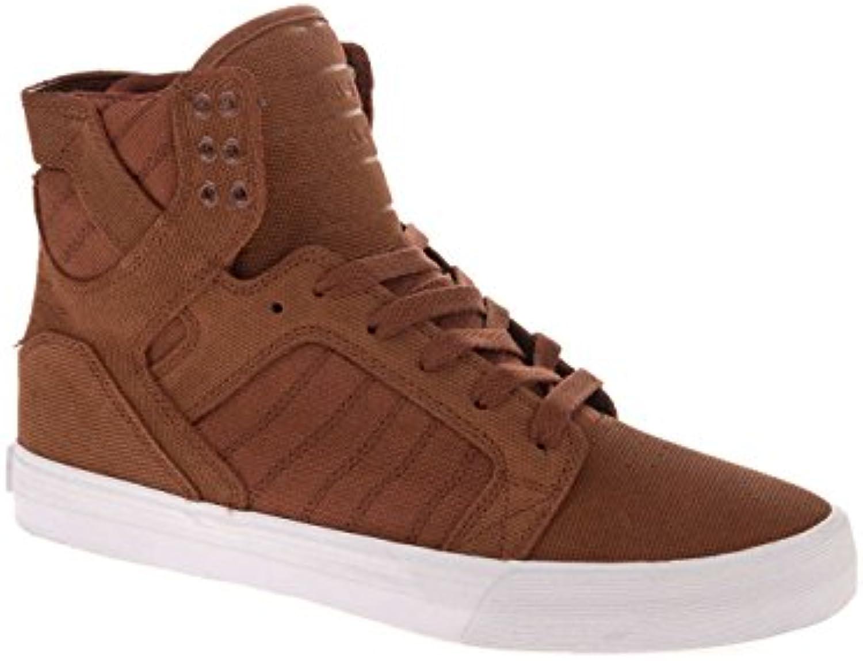 Shoes Supra Skytop - MARRON, 43  -