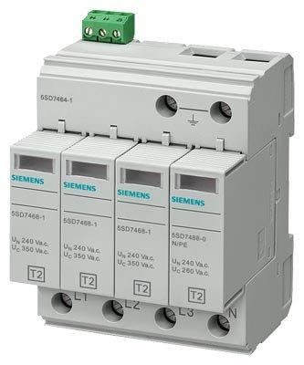Siemens Ableiter Überspannungsschutz 4polig mit Alarmton Spielzeug