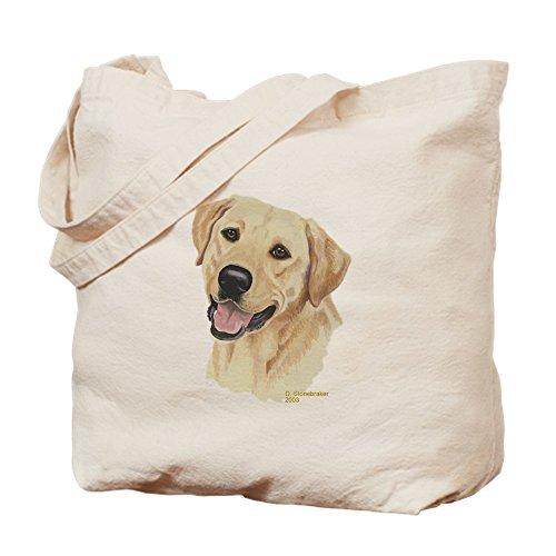(CafePress gelber Labrador–natürliche Canvas Handtasche, mit Tuch, mit Tasche, canvas, khaki, S)