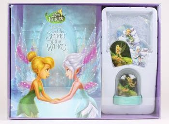Disney Fairies Boxset: Tinker Bell and the Secret of the Wings Storybook and Glitter Globe