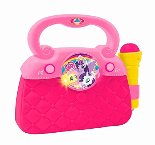 REIG 2479-My Little Pony-Bolsa con micrófono Luces Sonidos y Conex MP3