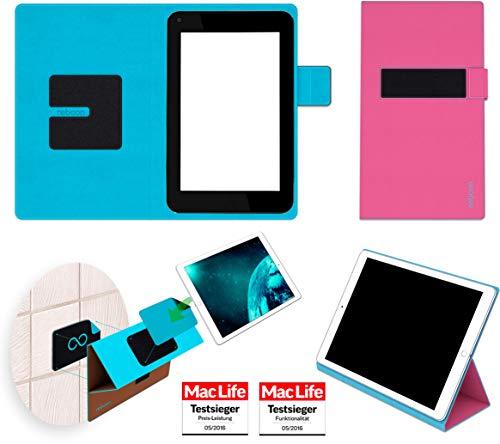 reboon Hülle für HP Slate 7 Plus Tasche Cover Case Bumper   in Pink   Testsieger