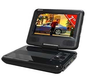 TAKARA Lecteur DVD portable DIV115R + Support pour lecteur DVD portable DVDock .