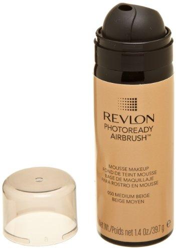 REVLON Photoready Airbrush Mousse Makeup Medium Beige 1.4 Ounce