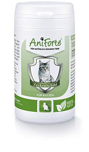 Pastillas AntiGarrapatas para Gatos (60 cápsulas) | Producto 100% Natural para Gatos | Complejo de Vitamina B que actúa como Escudo Anti Garrapatas