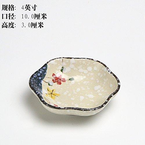 ronde-a-saveur-novatrice-en-ceramique-peint-a-la-main-le-plat-de-trempage-plaque-103cmun