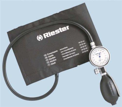 riester-1312velcro-cuff-adult-minimus-ii-blood-pressure-monitor-black