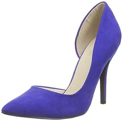 Another Pair of Shoes Phoebek3, Women's Closed pumps, Blue (dark blue70), 3 UK (36 EU)