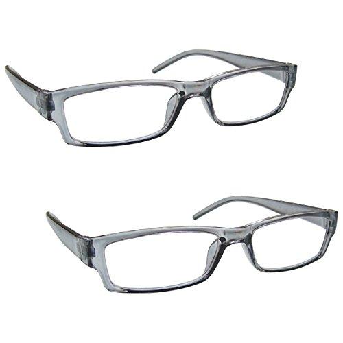 La Compañía Gafas De Lectura Gris Ligero Cómodo