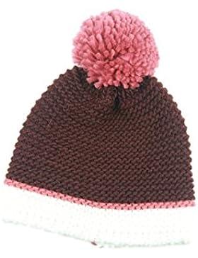 Mai Dou Moda Caliente Exquisita Al Aire Libre Otoño Invierno Señora Con Pelo Pelota Sombrero
