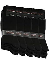 5 pares de calcetines de hombre calcetines de algodón de trabajo calcetines de ocio - cómodo sin costuras de presión - cómodo cinturón… eiL4w1OByn