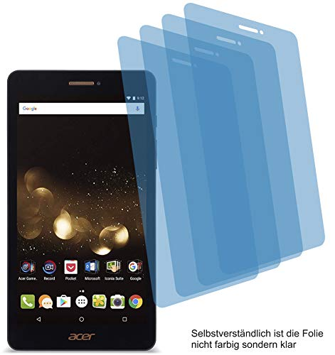 4ProTec 4X ANTIREFLEX matt Schutzfolie für Acer Iconia Talk S A1-734 Bildschirmschutzfolie Displayschutzfolie Schutzhülle Bildschirmschutz Bildschirmfolie Folie