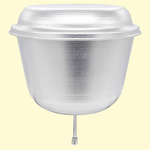Olymp Wasserspender 6 L, aus Aluminium, H - 25 cm, D - 28 cm