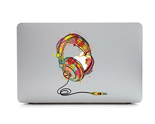 Macbook Aufkleber, Stillshine Super dünn Removable Bunte Muster Sticker Aufkleber Skin für Apple MacBook Pro / Air 13
