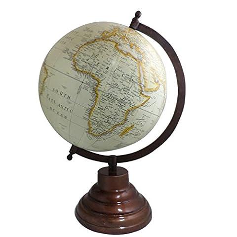 Geographie Map Tisch Decor Holz Ständer Earth Globe Ocean Big drehbar Globe 30,5cm