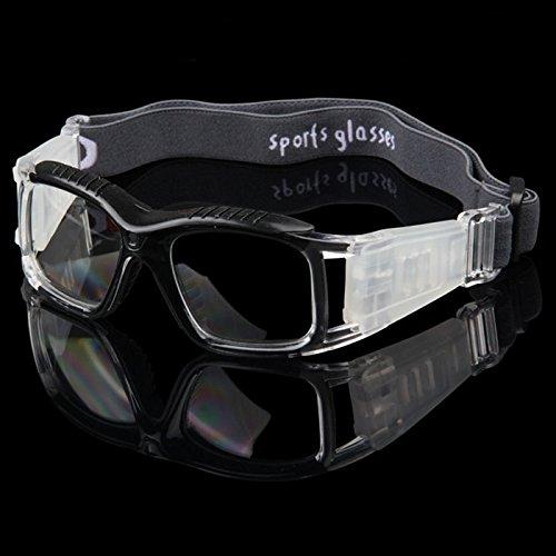 fussball sportbrille Bazaar Herren Basketball Schutzbrille Outdoor Sports Goggles Fußball Spiegel Sportbrillen