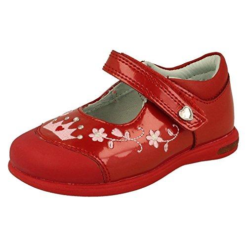 Start-rite - Sandali con Zeppa da ragazza' , multicolore (Red Patent), 25 EU