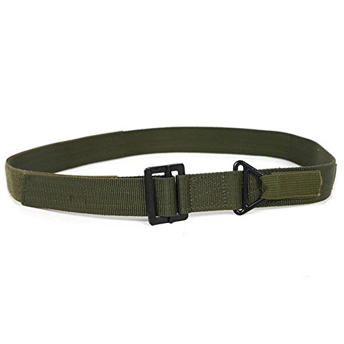 Minkoll Taktischer Gürtel, Einstellbare Militärische Taktische Notfall Rettungs Rigger (Grün)