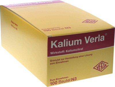 Kalium Verla Granulat Beutel 100 stk