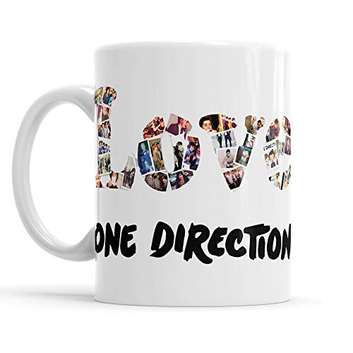 g Love One Direction - Tee/Kaffee-keramiktasse pop Rock Band mmug ()