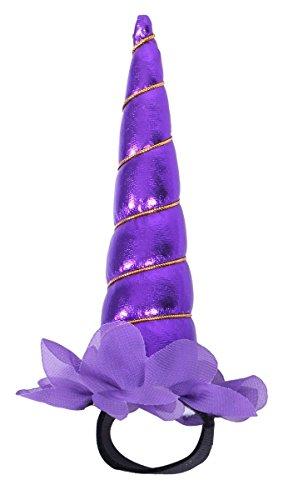 Einhorn Unicorn Halfter Halfterzubehör Halfterdekoration 4 verschiedene Ausführungen Farbe lila