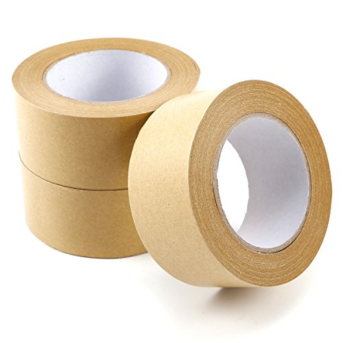50mm-brown-adhesive-backing-tape-picture-framing-50m-3-rolls