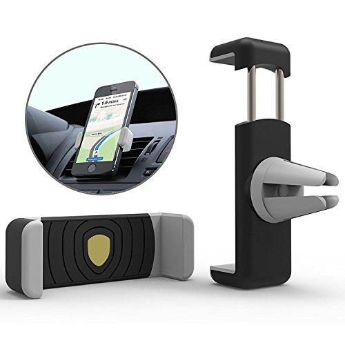 EKRON Premium Air Vent Universal Car Mount Holder for Smart Phones with 360 Multi Angle Adjustable, Multi Colour