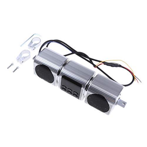 D DOLITY Motorrad Bluetooth Lautsprecher Verstärker Sound System Verstärker Sound System Frequenzbereich: 20Hz - 20KHz