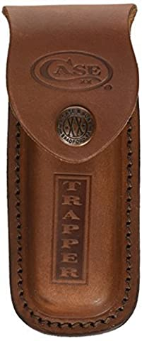 Leather Sheath Only For Trapper by W.R. Case & Sons Cutlery
