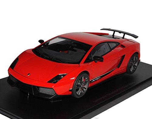 Preisvergleich Produktbild Lamborghini Gallardo Superleggera LP570-4 Rot 2010 74655 1/18 AutoArt Modell Auto