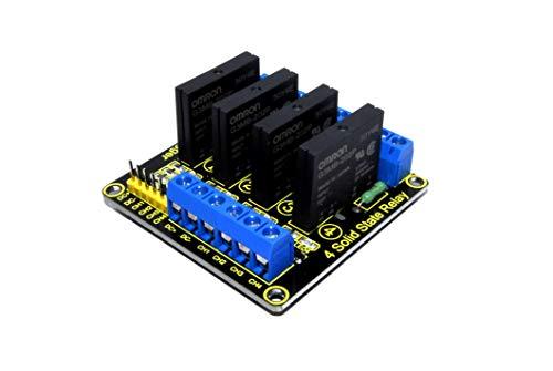 Keyestudio 5 V 4 Kanal Solid State Relais Modul 240 V AC 2A Arduino -
