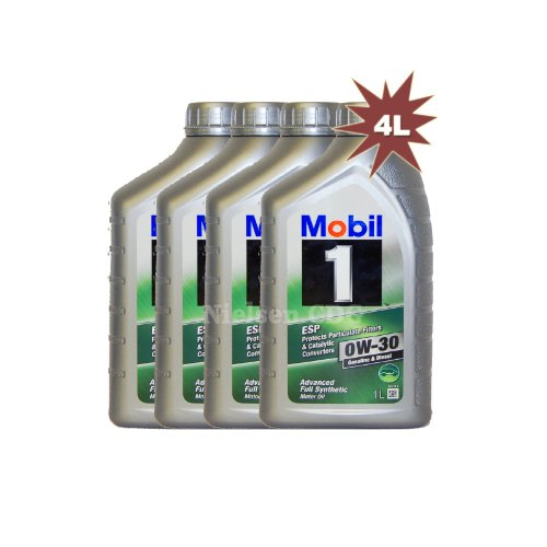 mobil-1-0w-30-esp-fully-synthetic-car-engine-motor-oil-4x1l-4l