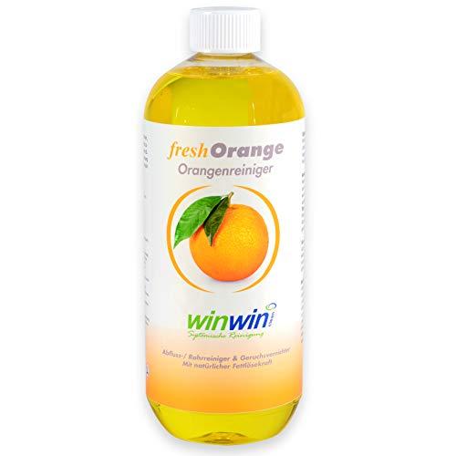 winwin clean Systemische Reinigung - Fresh ORANGE 1000ML I HOCHKONZENTRIERTER ORANGENREINIGER I SIE Werden BEGEISTERT Sein -
