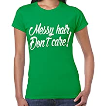 Cables Don 't de pelo de para el cuidado de la T-camiseta de manga corta para mujer - 5 colores