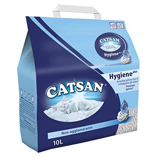 Catsan MD068 Hygiene plus Lettiera per Gatti, 10 litri