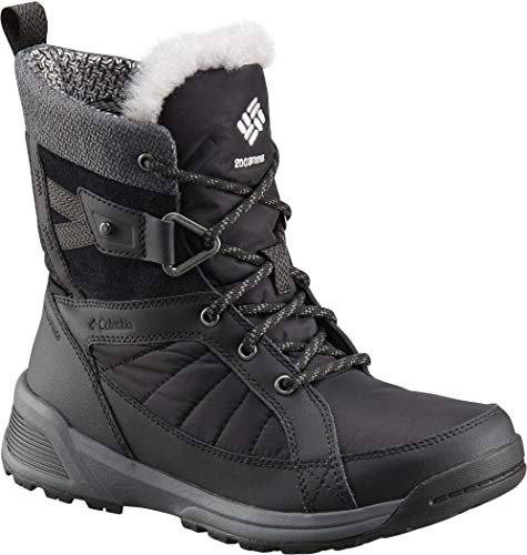 Columbia Meadows Shorty Omni-Heat 3D Boots Women Black/Steam Schuhgröße US 10,5 | EU 41,5 2018 Stiefel (Stiefel Womens Wasserdichte Columbia)