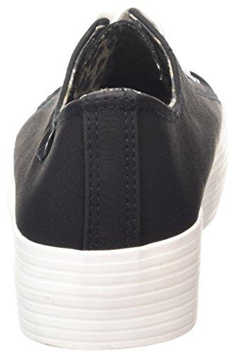 MTNG Attitude tennis - Sneakers PU NOBUCK NEGRO / OUTSOLE BLANCO