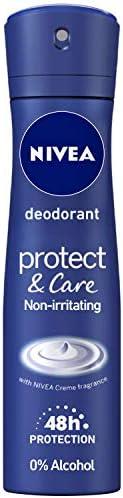 NIVEA Deodorant, Protect & Care, Women, 1