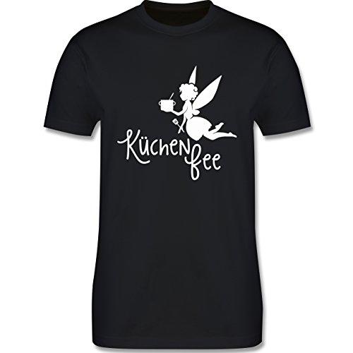 Küche - Küchen Fee - Herren Premium T-Shirt Schwarz
