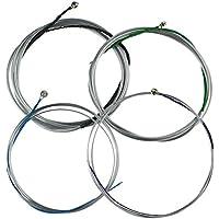 Núcleo de acero aluminio magnesio–Cuerdas para violonchelo 4/4Tamaño suave con sonido grueso, de diámetro para violonchelo uso