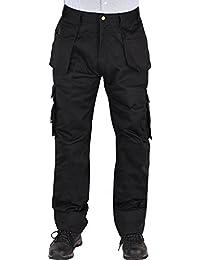 Fast Fashion - Pantalons Adultes Ruff n Stuff Utilitaires Lourds Cargo Vêtements De Travail - Hommes
