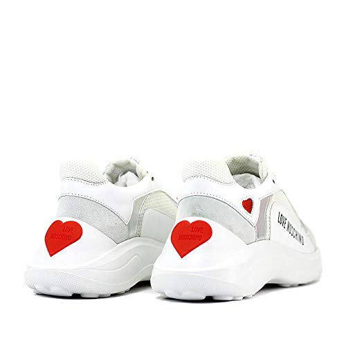 Love Moschino JA15296G07 Sneakers Femme Gris 36