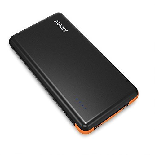 Aukey PB-N38 - Batería portátil de 8000 mAh, color negro