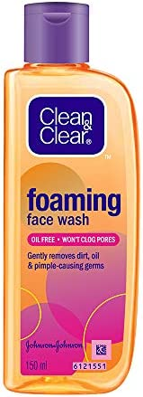 Clean & Clear Foaming Face Wash For Oily Skin, 1