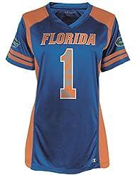 """Florida Gators Women's NCAA Champion """"Kick Off"""" Fashion Football Jersey Maillot"""
