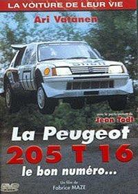 la-voiture-de-leur-vie-la-peugeot-205-t-16-le-bon-numero-edizione-francia