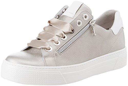 Semler Alexa, Sneaker Donna Grau (Perle-Weiss)